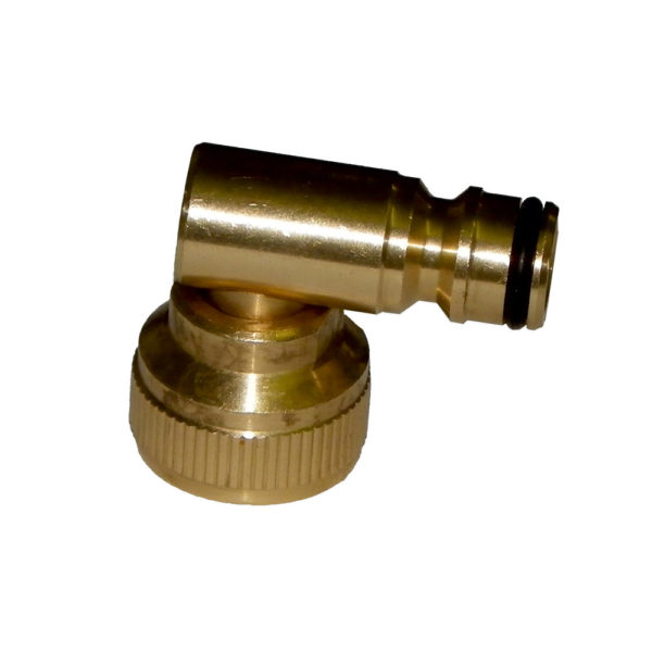 Hozelock Brass Swivel Elbow