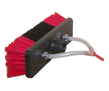 10″ Lightweight Brush Head with injectors & head hoses