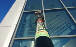 water fed pole, aligator pole, window cleaning pole, window cleaning brush, aluminium water fed poles