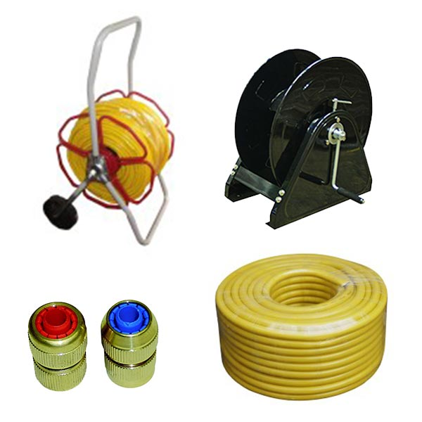 Hose and Reels (including spares and parts)