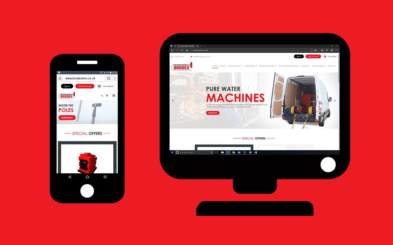 New Brodex, New Website.
