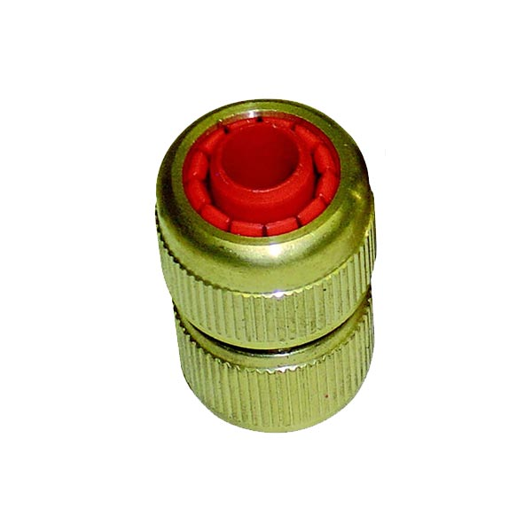 Hozelock Female (0.5inch) Trolley Hose Fitting – Brass STOP END