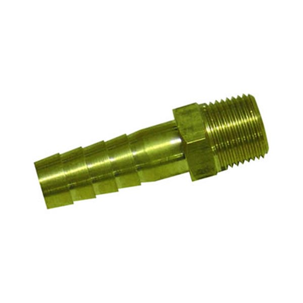 Male (0.5 inch) Hosetail Tap Insert – Brass