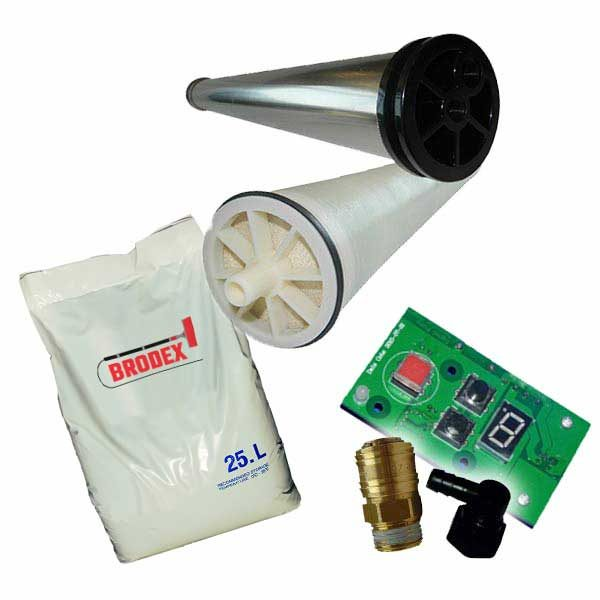 Machine Spares, Parts and Consumables