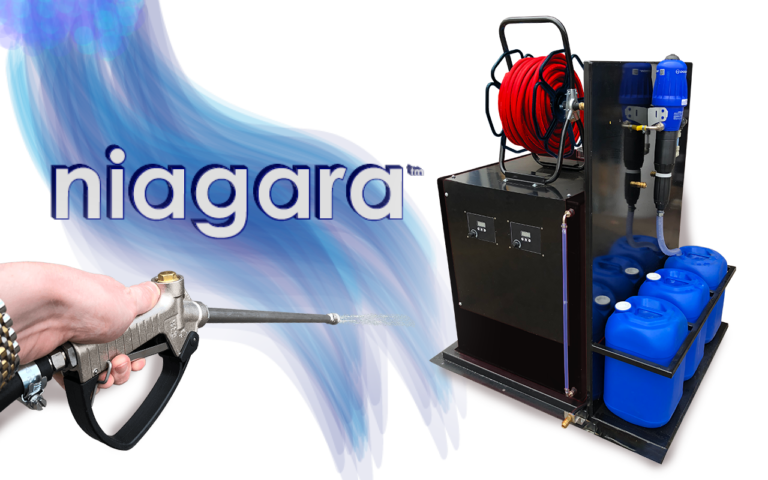 The Brodex niagara™ Softwash System