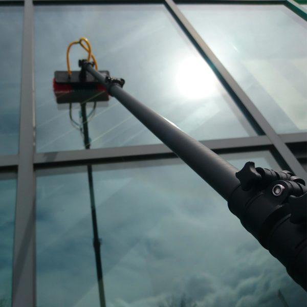 Carbon Fibre Water Fed Pole, Carbon Fibre Telescopic Pole, Window Cleaning Pole, RAPTOR Pole, Telescopic Cleaning Pole, Window Cleaning Equipment, Carbon Pole, Window Cleaning Brush