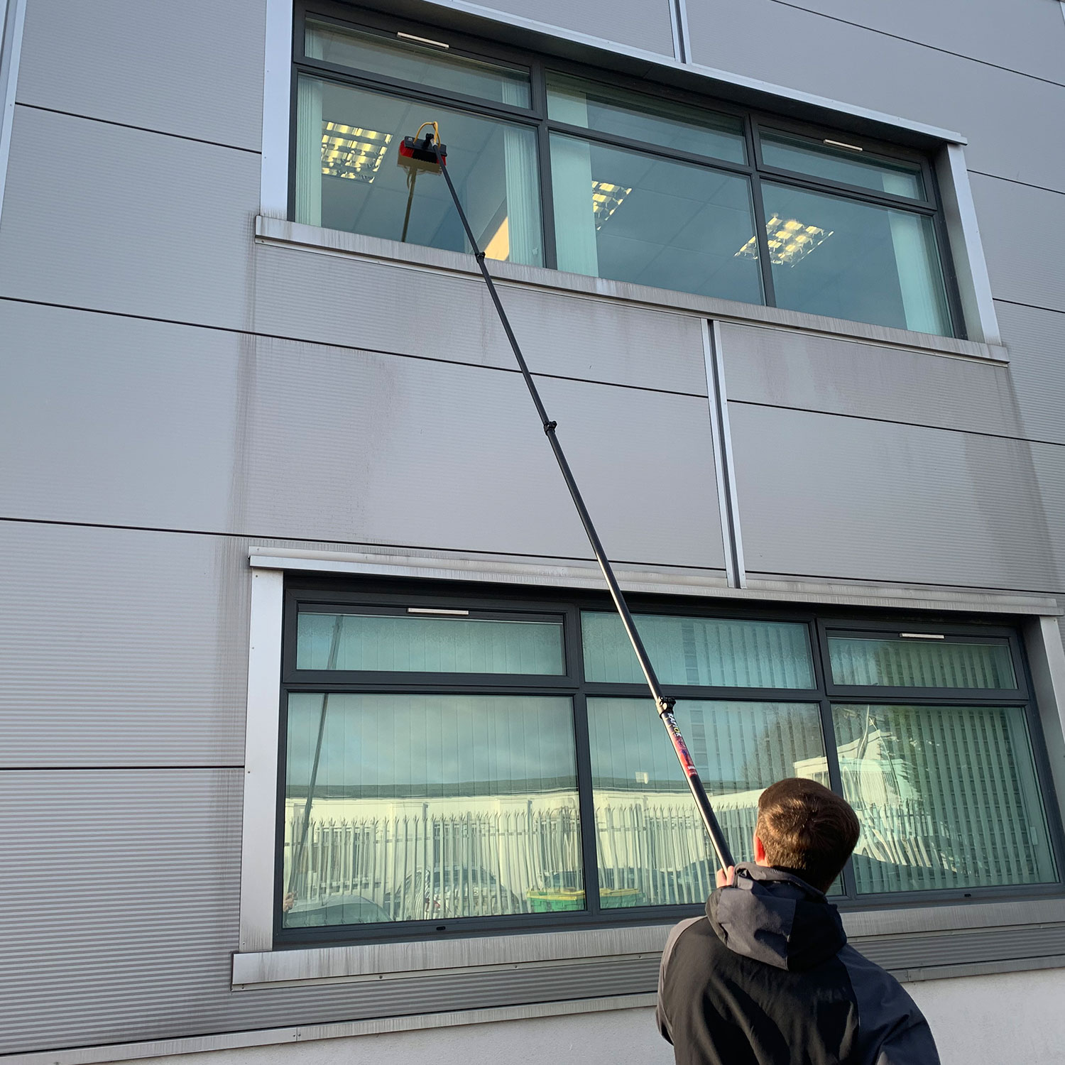 Image result for Water Fed Window Cleaning