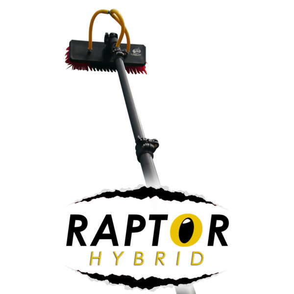 RAPTOR HYBRID Water Fed Poles